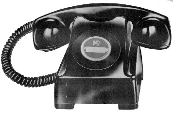 apo 1040 this is a magneto telephone imported from the usa in 1948 to cover an shortage of telephones at the time it was used boxed magneto kellogg type 1205