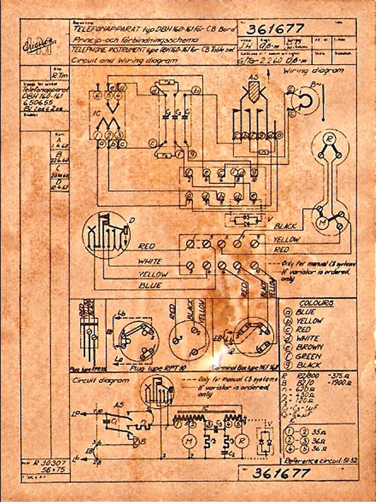 on Old Telephone Wiring Diagrams