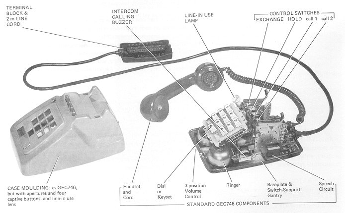 Gec System 100 Switching Telephone System