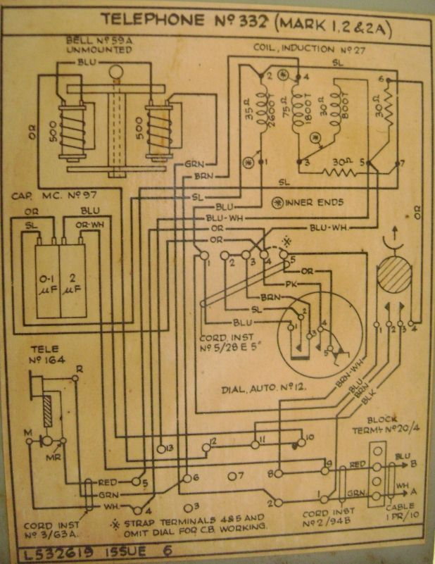 t322paster tele no 332 Antique Phone Wiring Diagram at readyjetset.co