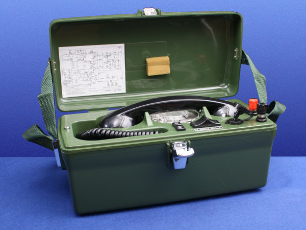 TELE No. 704 Handset Wiring Diagram Army on