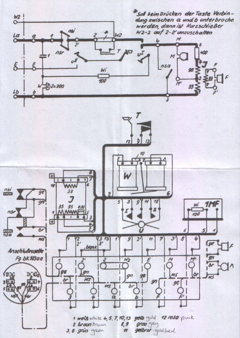 Siemens W48 Phone Fax Wiring Diagram Click Here For The Krone Circuit And With Recall Switch