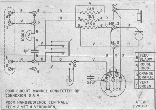 BELL TELEPHONE INSTRUMENTS WIRING DIAGRAM on