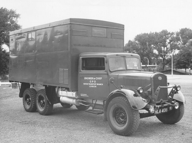 Fordson WOT 1 Ex Military 6x4 Chassis Fitted With A Box