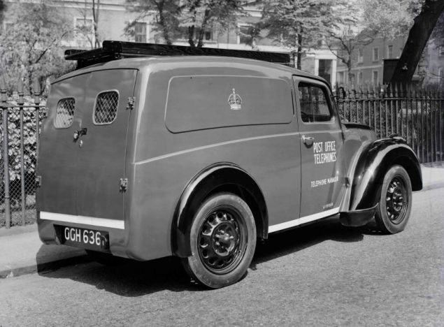 Morris Z Type Gpo Minor Van Type 1 1940